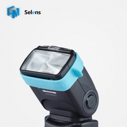 Selens Blue Rubber Gel Band for FLash