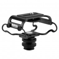 BOYA BY-C10 Microphone and Portable Recorder Shock and Camera Isolation Mount