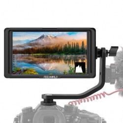 FeelWorld F5 5 inch IPS Full HD On-Camera Field Monitor with 4K HDMI Support and Tilt Arm
