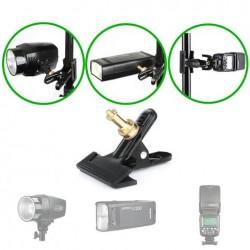 Heavy Duty Metal Camera Clip Clamp Grip with Spigot/Ball Head