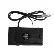 BMPCC Power Supply Mount Plate Adapter for Sony NP-F970 Battery