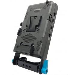 V-Mount/V-Lock Battery Plate for BMPCC Cameras (Blackmagic 4K/6K/6K Pro)
