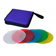 NiceFoto SN-518 5 Color Gel Filter Set For Studio Flash Strobes