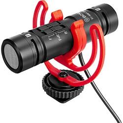 BOYA BY-MM1 PRO  Dual-Capsule Shotgun Microphone