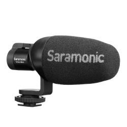 Saramonic VMIC Mini Ultra-Compact Camera Mount Shotgun Microphone for DSLR Cameras and Smartphones