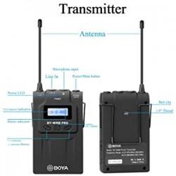 BOYA TX8 Pro Dual-channel Wireless Bodypack Transmitter Unit with Omnidirectional Lavalier Mic
