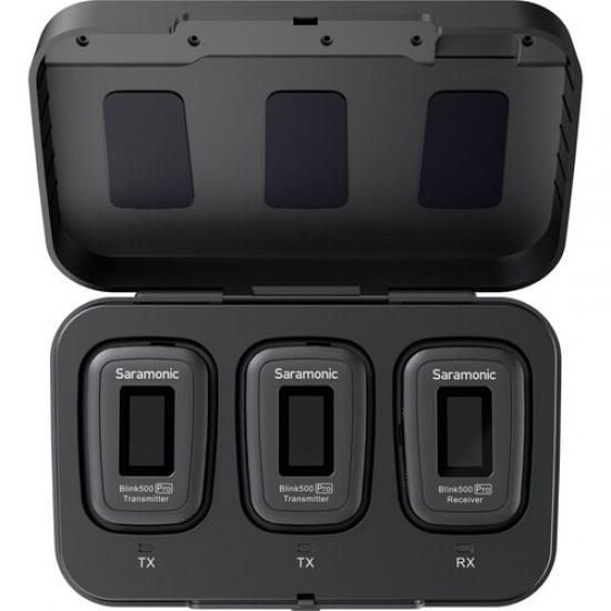 Saramonic BLINK500 PRO B2 Camera-Mount Wireless Omni Lavalier Microphone System