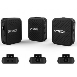 Synco Wair G1 (A2) 2 Person Wireless Lavalier Microphone System for DSLR/Mirrorless Cameras