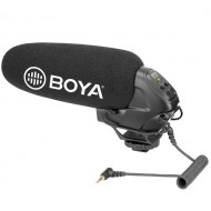 BOYA BY-BM3031 Unidirectional Camera Microphone for DSLRs and Camcorders