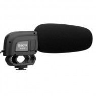 BOYA BY-M17R On-camera Super Cardioid Shotgun Mic for DSLRs, Camcorder and Audio Recorders