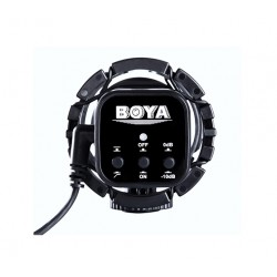 BOYA BY-V02 Compact External Stereo Video Microphone for DSLR Cameras