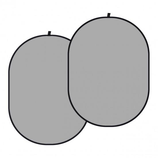 Neewer 150cm x 200cm Portable Foldable Background (Grey)
