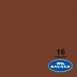 Savage Widetone Seamless Background Paper (#16 Chestnut)