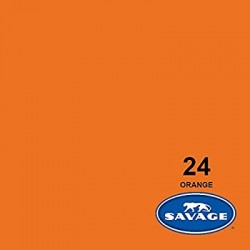 Savage Widetone Seamless Background Paper (#24 Orange)