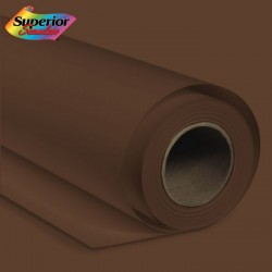 Superior 1.35*10 m Seamless Background Paper (#20 Coco Brown)