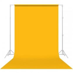 Superior 1.35*10 m Seamless Background Paper (#35 Yellow Orange)