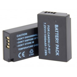 Digital LP-E17 Battery Pack for select Canon Cameras