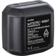 Godox WB87 Lithium Battery Pack for Godox AD600-Series Strobe Flash Heads (11.1V, 8700mAh)