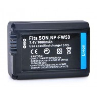 Digital NP-FW50 Lithium-Ion Rechargeable Battery Pack for Sony (7.4V, 1080mAh)