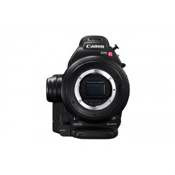 Canon EOS C100 Cinema Camcorder with Dual Pixel CMOS AF Feature Upgrade - EF Lens Mount (Body Only)