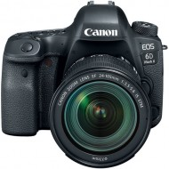 Canon EOS 6D Mark II DSLR Camera with EF 24-105mm f/3.5-5.6 IS STM Kit Lens