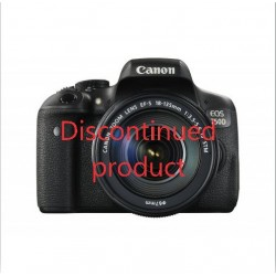 Canon EOS 750D DSLR Camera with 18-55mm III STM Lens
