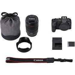 Canon EOS RP Mirrorless Digital Camera with RF 24-105mm f/4L IS USM Lens and EF-EOS R Mount Adapter