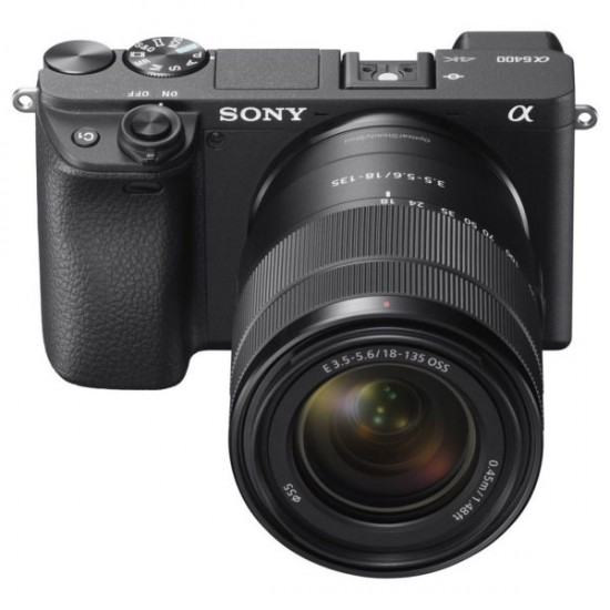 Sony Alpha a6400 Mirrorless Digital Camera with 18-135mm f/3.5-5.6 OSS Lens