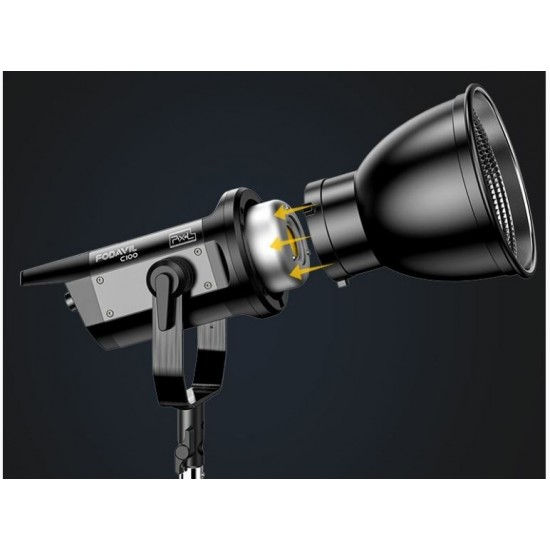Pixel Fodavil C100 120W COB Continuous LED Video Light (5600K)