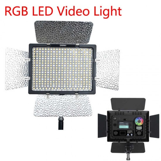 YONGNUO YN300 IV RGB LED Camera Video Light Panel (3200-5600K)