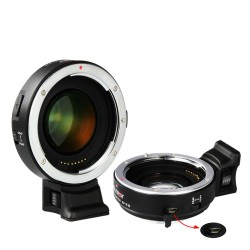 VILTROX EF-E II Electronic Lens Adapter for Canon EF Mount Lenses to Sony E Mount DSLR Camera