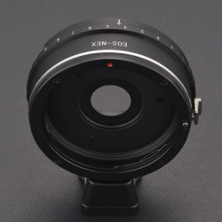 YEHON EOS-NEX Adjustable Aperture Adapter for Canon EF Lens to Sony E Mount NEX-7