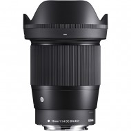 Sigma 16mm f/1.4 DC DN Lens for Canon EF-M-Mount