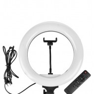"12"" Dimmable USB Ring Light for smartphones with Remote controller"