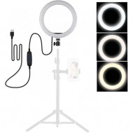 13 Inch 10W M33 LED Dimmable Ring Light (3200-5500K) with USB Cable