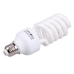 45W 5500K E27 White Fluorescent Photography Daylight Lamp Bulb