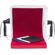 100cm x 100cm Portable Tungsten Light Tent Product Photography Box with 4 Backgrounds
