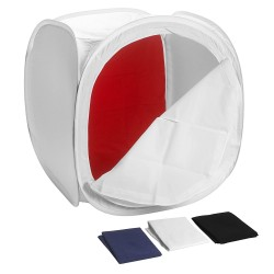 Neewer 60x60cm/24x24 inch Light Tent Product Photography Box with 4 Backdrops