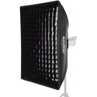 Godox 60cm x 90cm Bowens Mount Grid Softbox for Strobe