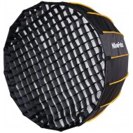 Nicefoto 120cm/47.2 inches Deep Parabolic Quick Set-up Bowens Mount Softbox with Grid for Studio Flashes and LED Lights