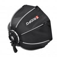 "Triopo 120cm / 47"" Deep Octagon Umbrella Speedlite Softbox with Flash Bracket"