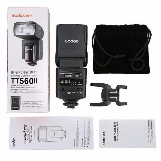 Godox TT560 II GN38 Thinklite Flash Speedlite with Trigger