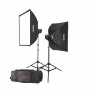 GODOX MS300-F 2-Monolight 600W Studio Strobe Kit (2 heads)