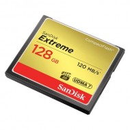 SanDisk 128GB Extreme Compact Flash 120mb/s Memory Card