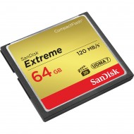 SanDisk 64GB GB Extreme Compact Flash CF Card 120mb/s - Memory Card
