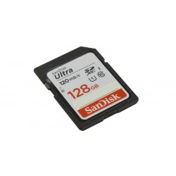 SanDisk 128GB Ultra (120Mb/s) UHS-I SDXC Memory Card (Class 10)