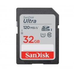 SanDisk 32GB Ultra UHS-I SDHC Memory Card (Class 10)
