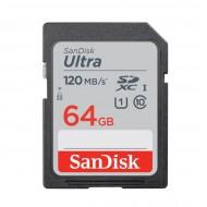 SanDisk 64GB Ultra UHS-I SDXC Memory Card (Class 10)
