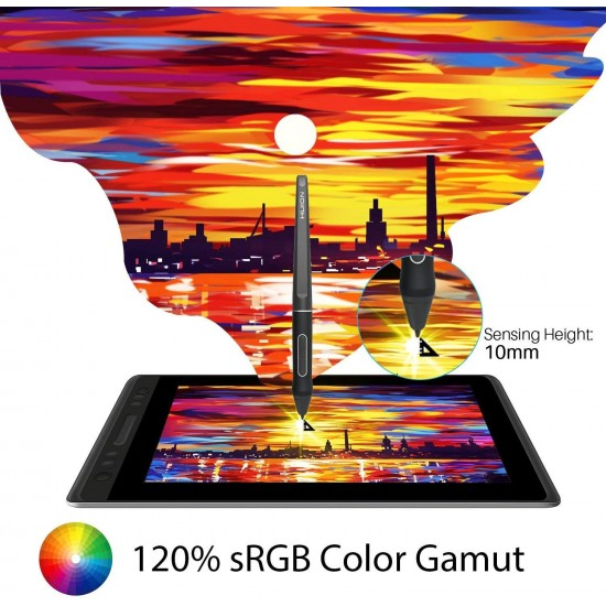 HUION GT 133 Kamvas Pro 13 Creative Pen Display Monitor Drawing Tablet with Stand