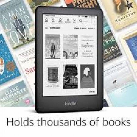 All-new Amazon Kindle with Built-in Front Light (Black)
